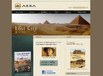 AERA web site