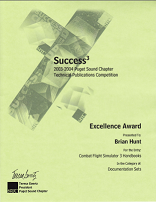 Award Brian V. Hunt